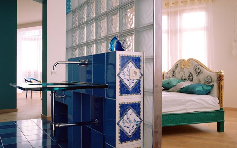 Квартира. спальня из проекта , фото №10600