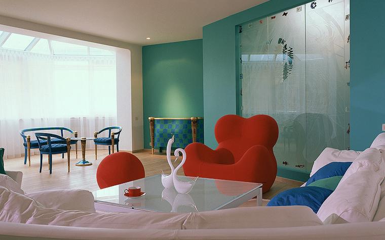 Квартира. гостиная из проекта , фото №10604