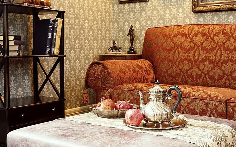 интерьер гостиной - фото № 10612