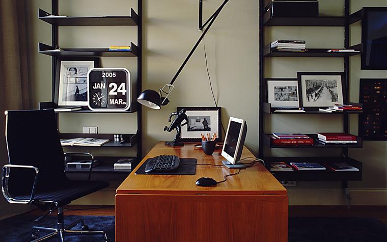 интерьер кабинета - фото № 11302