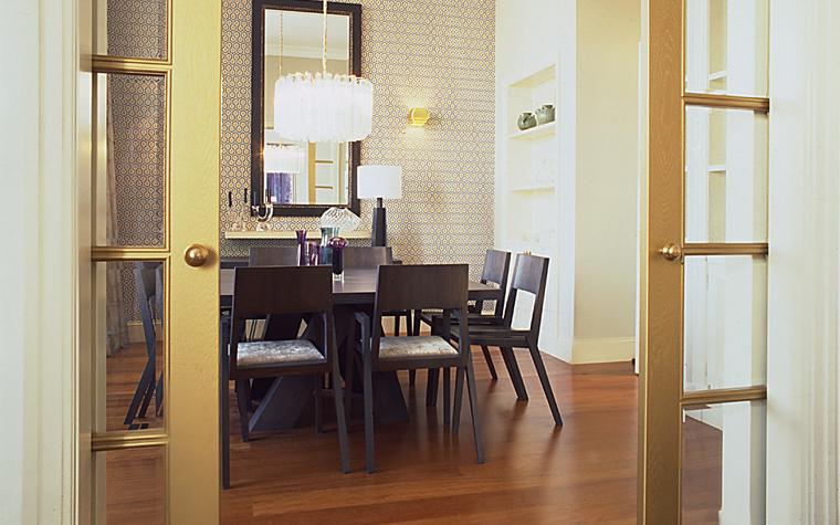 Квартира. столовая из проекта , фото №11308