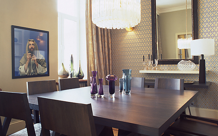 Квартира. столовая из проекта , фото №11305