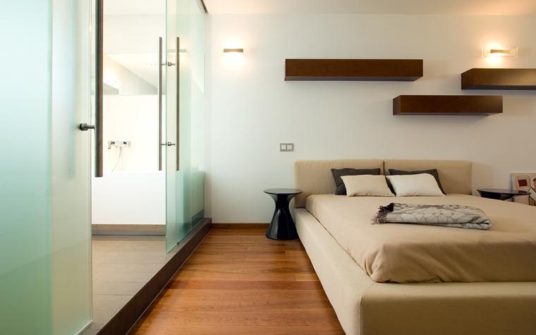 Квартира. спальня из проекта , фото №20082