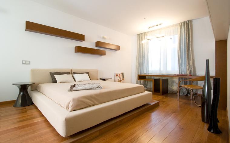 Квартира. спальня из проекта , фото №20083