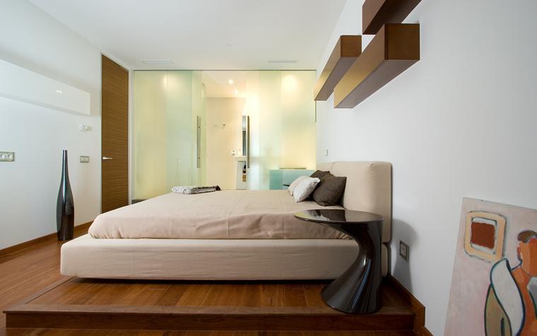 Квартира. спальня из проекта , фото №20085