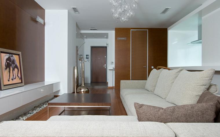 Квартира. гостиная из проекта , фото №20071