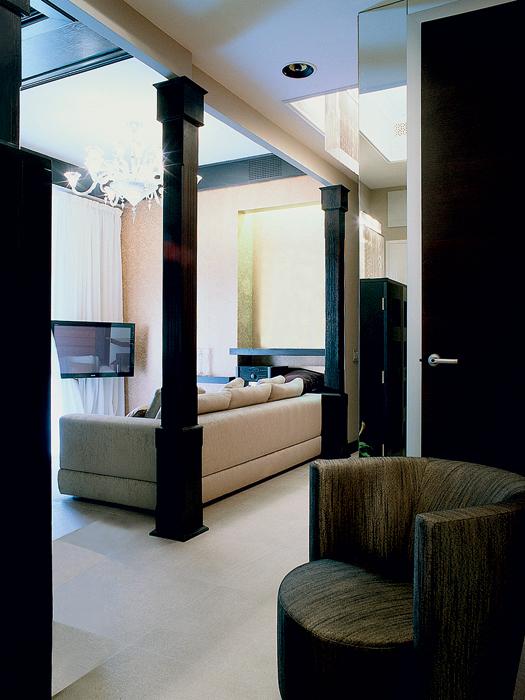 интерьер гостиной - фото № 26978