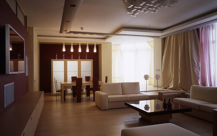 Квартира. гостиная из проекта , фото №24802