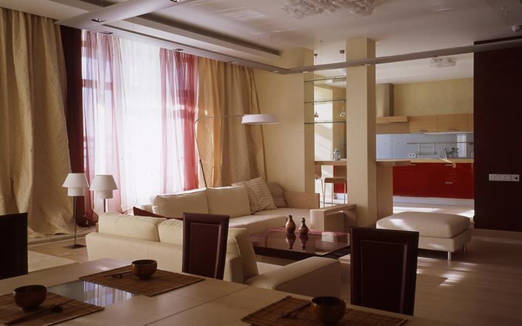Квартира. гостиная из проекта , фото №24803
