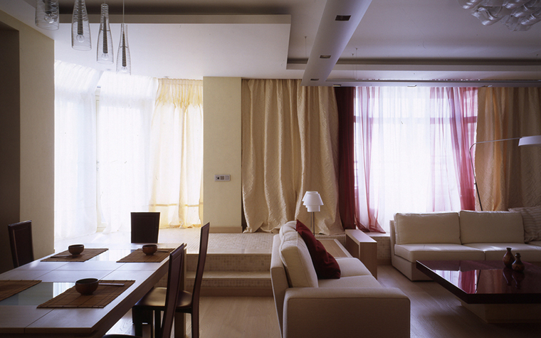 Квартира. гостиная из проекта , фото №24804
