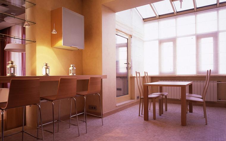 Квартира. столовая из проекта , фото №24812