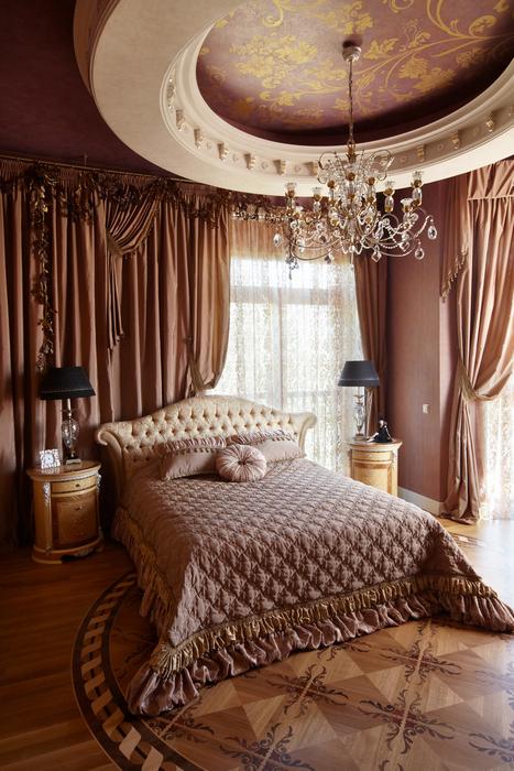 интерьер спальни - фото № 21539
