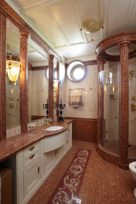 Квартира. ванная из проекта , фото №21551