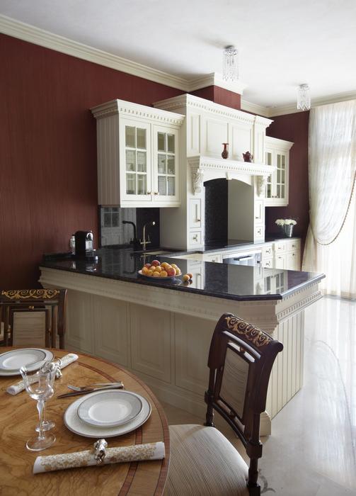 Квартира. кухня из проекта , фото №21537