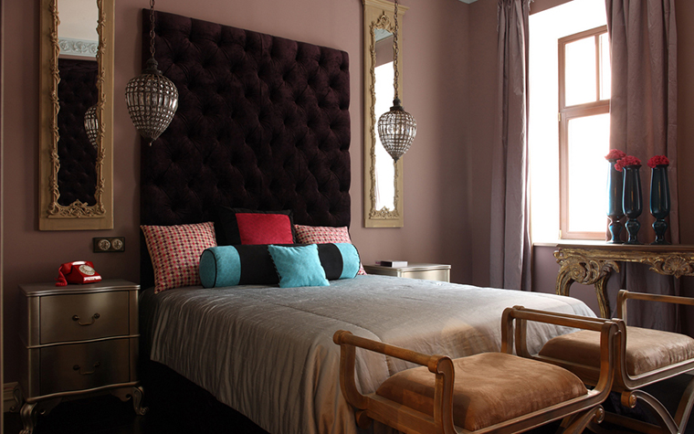 Квартира. спальня из проекта , фото №20780