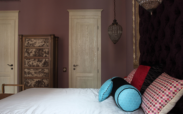 Квартира. спальня из проекта , фото №20781