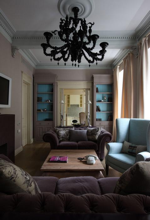 Квартира. гостиная из проекта , фото №20773