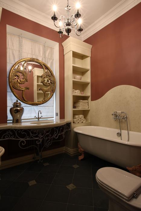 Квартира. ванная из проекта , фото №20784