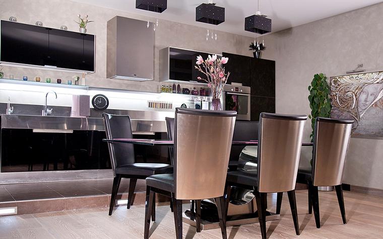 Дизайн кухни гостиной: современные идеи (77 фото)