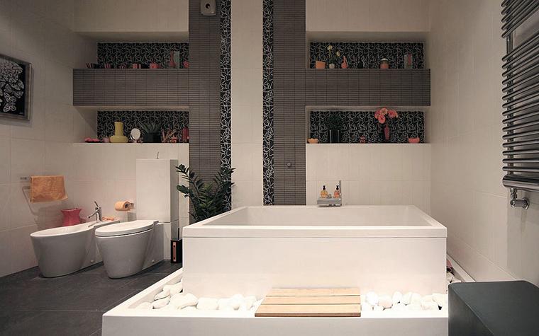 Квартира. ванная из проекта , фото №20828