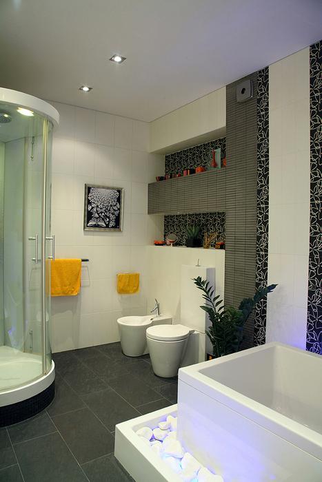Квартира. ванная из проекта , фото №20829