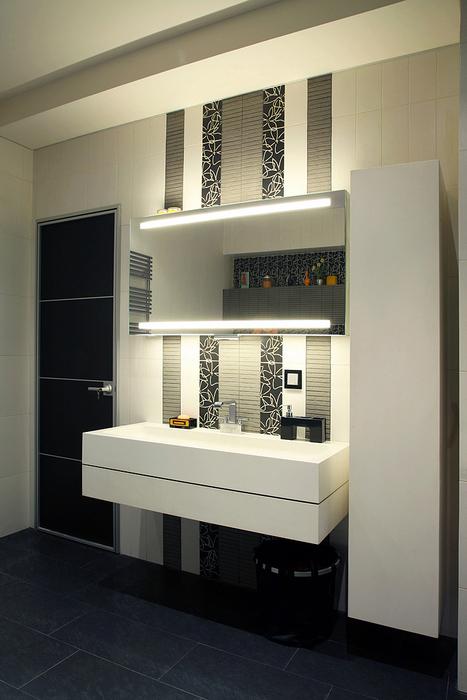 Квартира. ванная из проекта , фото №20830