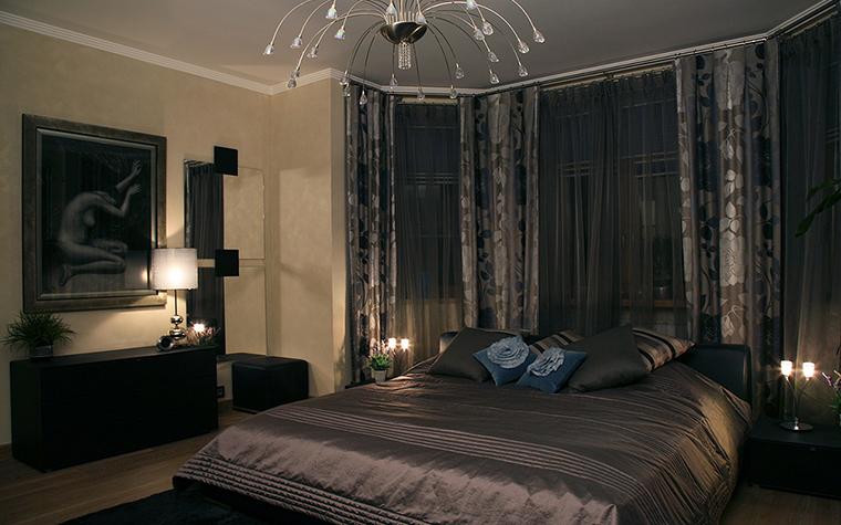 Квартира. спальня из проекта , фото №20825