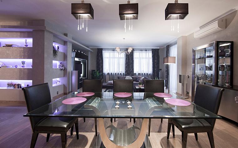 Квартира. столовая из проекта , фото №20810
