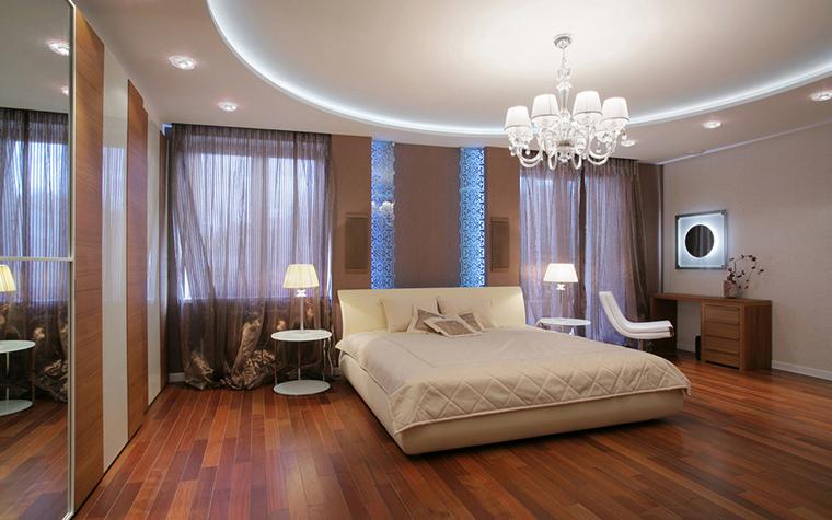 интерьер спальни - фото № 20857