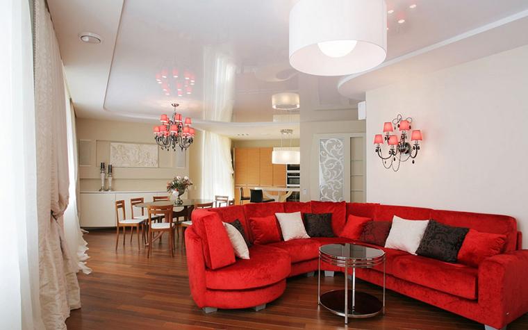 Квартира. гостиная из проекта , фото №20852