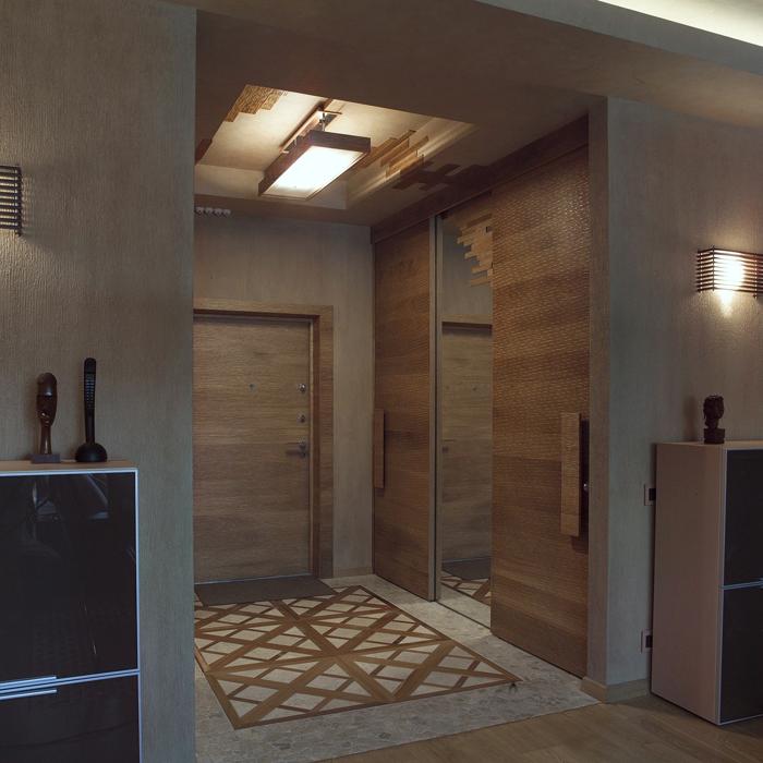Квартира. холл из проекта , фото №20885