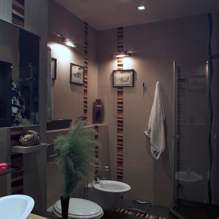 Квартира. ванная из проекта , фото №20899