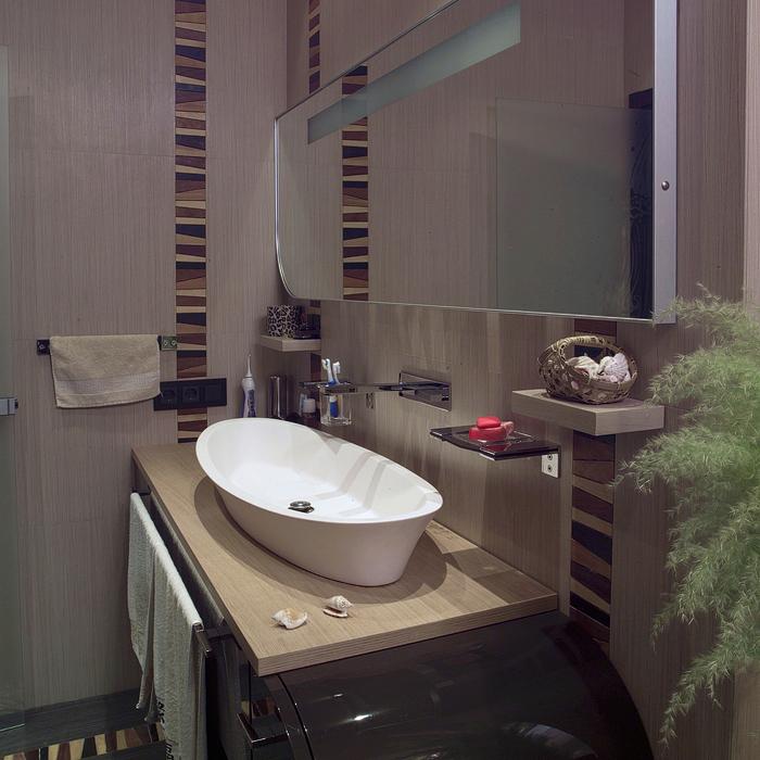 Квартира. ванная из проекта , фото №20900