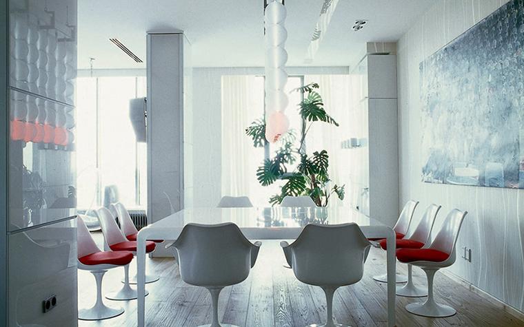 Квартира. столовая из проекта , фото №20907
