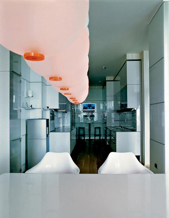 Квартира. столовая из проекта , фото №20908