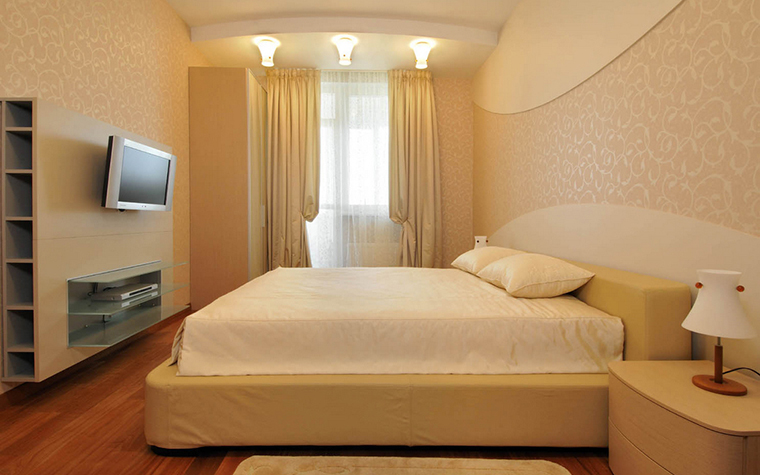 интерьер спальни - фото № 20956