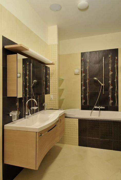 Квартира. ванная из проекта , фото №20959