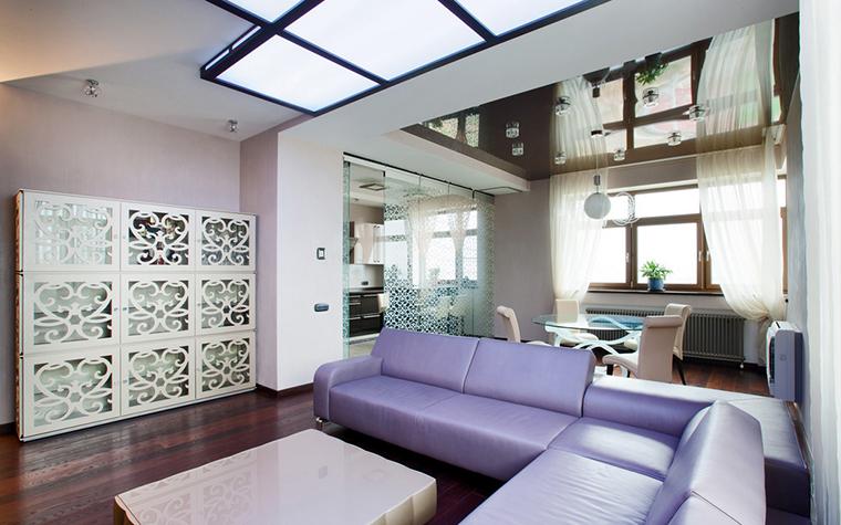 Квартира. гостиная из проекта , фото №20994