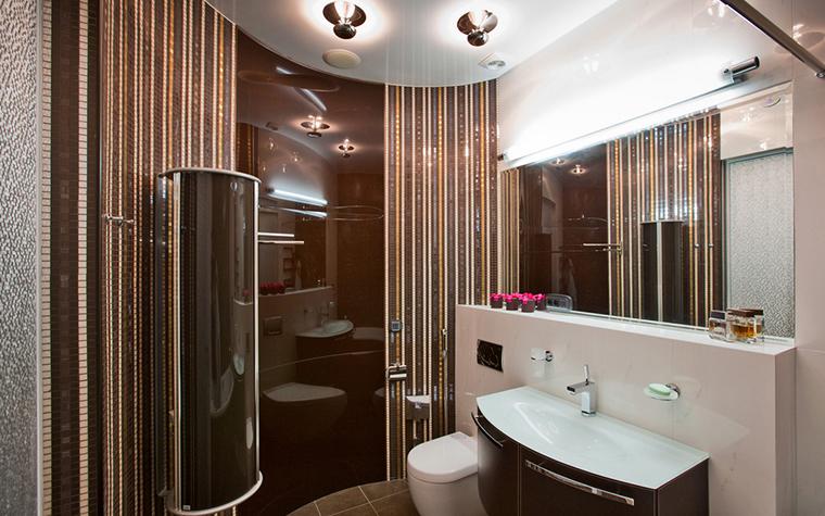 Квартира. ванная из проекта , фото №21007