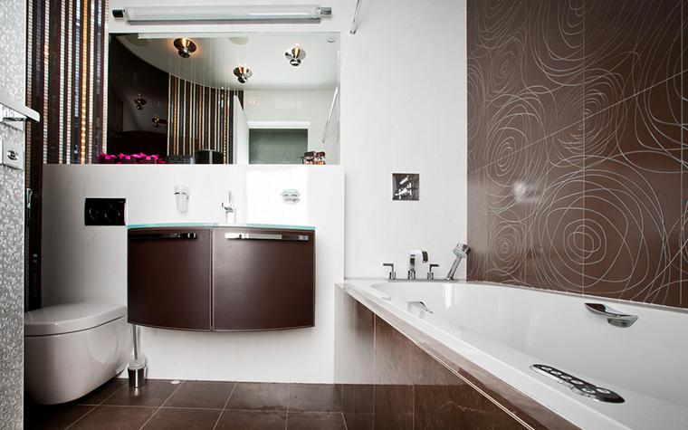 Квартира. ванная из проекта , фото №21009