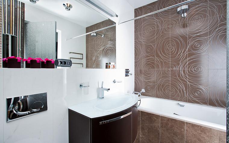 Квартира. ванная из проекта , фото №21012