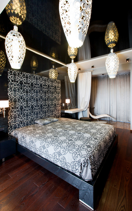Квартира. спальня из проекта , фото №20987
