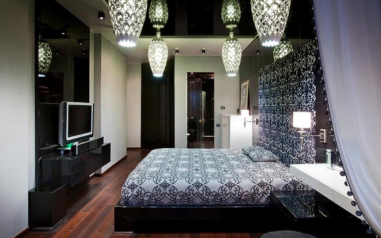 Квартира. спальня из проекта , фото №20986
