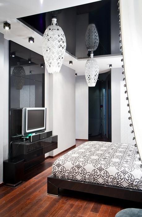 Квартира. спальня из проекта , фото №21016