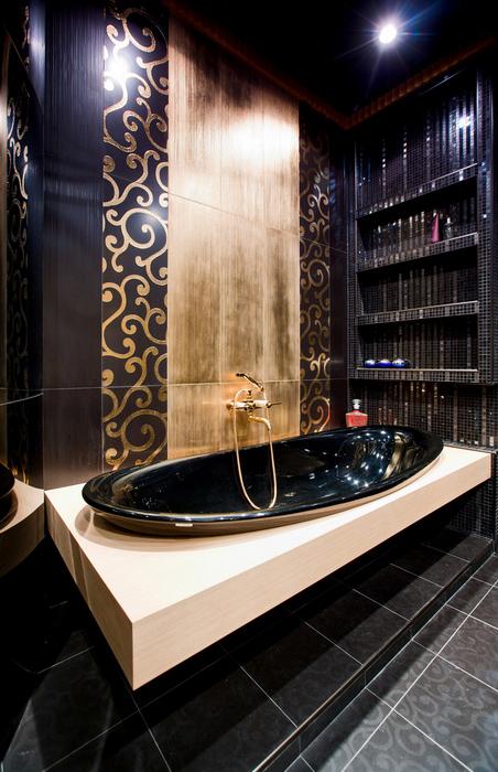 Квартира. ванная из проекта , фото №21032