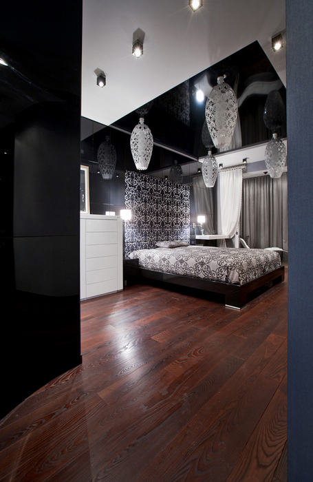 Квартира. спальня из проекта , фото №20982