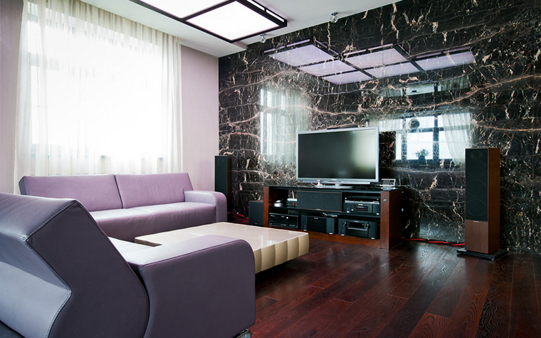 Квартира. гостиная из проекта , фото №20968
