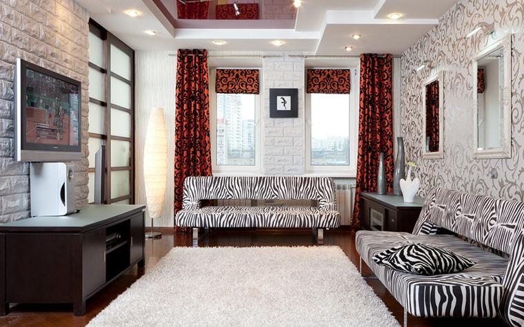 Фото № 21251 гостиная  Квартира