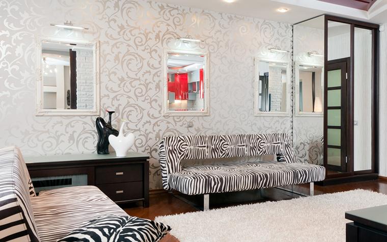 Фото № 21252 гостиная  Квартира