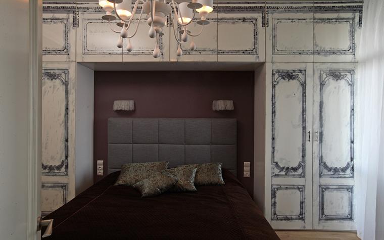 Квартира. спальня из проекта , фото №21297